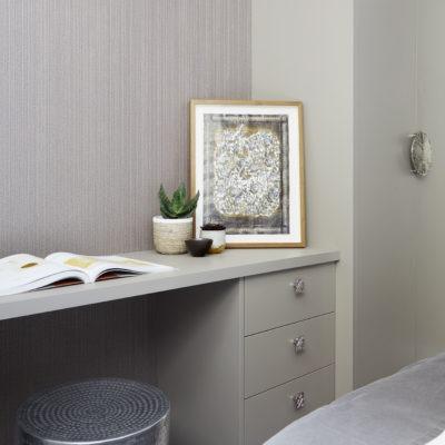 basement bedroom details