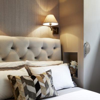basement luxury bedroom